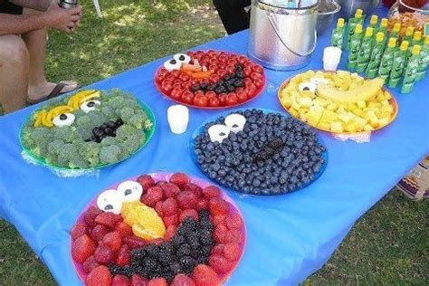 kid friendly picnic appetizers appetizers for children s birthday ideas green grapes