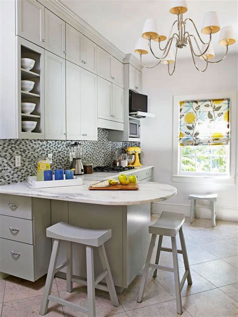 bhg kitchen design small kitchen makeover with paint