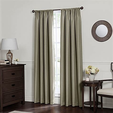rod pocket panel curtains emery rod pocket insulated total blackout window curtain