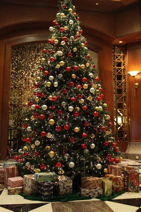 christmas lights up at the sheraton imperial kuala lumpur