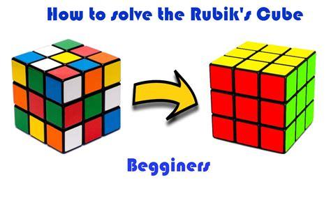 Rubik Cube 3x3x3 how to solve a 3x3x3 rubik s cube for beginners