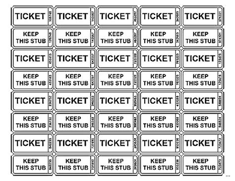 template for raffle tickets to print printable raffle tickets printable 360 degree