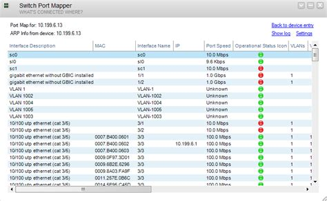 switch port map it management software monitoring tools l solarwinds