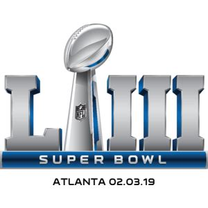 super bowl liii logo, vector logo of super bowl liii brand