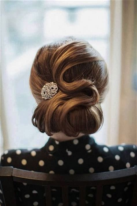 updo hairstyles retro 7 dainty vintage updo hairstyles pretty designs