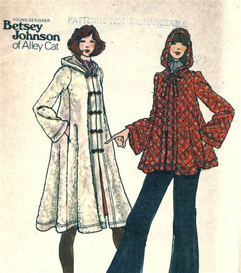 swing coat patterns reserved for christine vintage butterick 3845 uncut betsey
