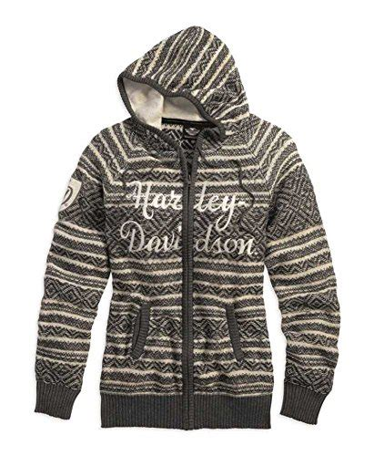 Sweater Harley Davidson 04 harley davidson s fair isle zipper front