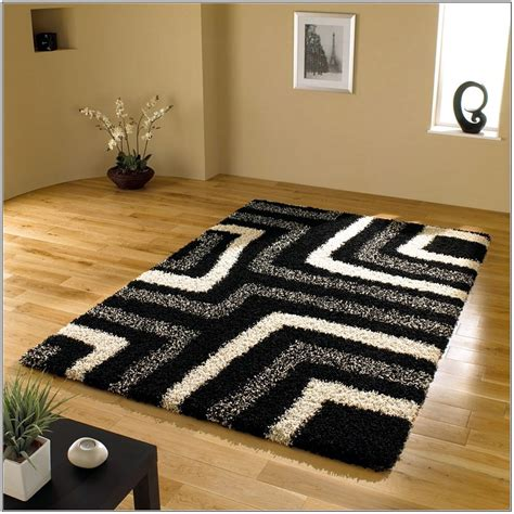 modern white rug black and white checkered area rug best decor things