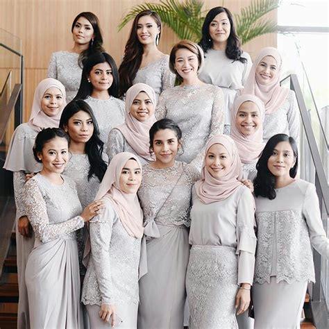 Kebaya Duyung Pengantin Wanita 10 inspirasi kebaya muslim yang sopan dan tertutup
