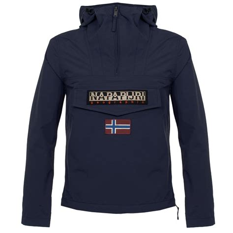 Napapijri Rainforest Navy napapijri rainforest summer marine cagoule jacket