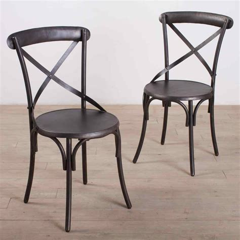 awesome chair dining rustic metal kitchen chairs room wire used steel