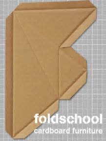 cardboard furniture templates pdf diy foldschool cardboard furniture free