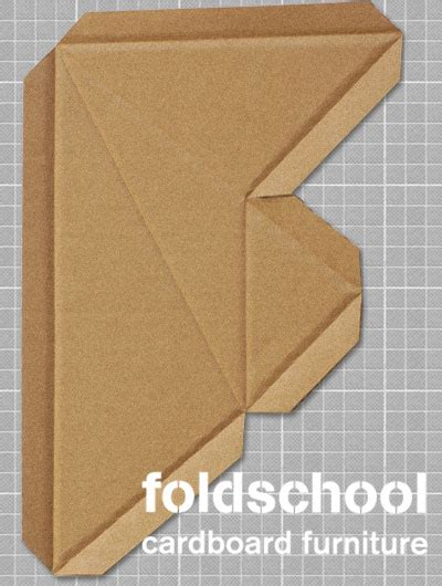 cardboard furniture templates pdf diy foldschool cardboard furniture free