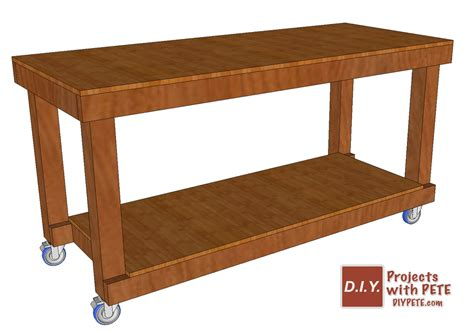 simple work bench diy simple workbench plans