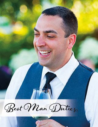 Best Man Duties   MagnetStreet Weddings