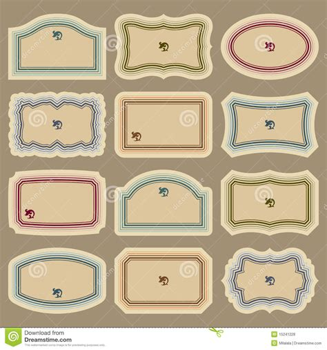 free printable vintage label templates 7 blank vintage label vector images free printable blank