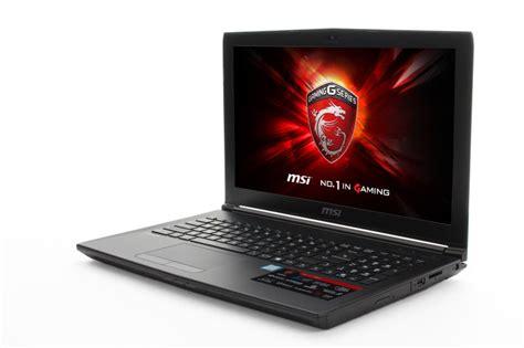 Ram Laptop Msi msi gl62 7qf 1672uk gaming laptop kabylake i5 7300hq 8gb ram 1tb hdd 15 6 qu ebay
