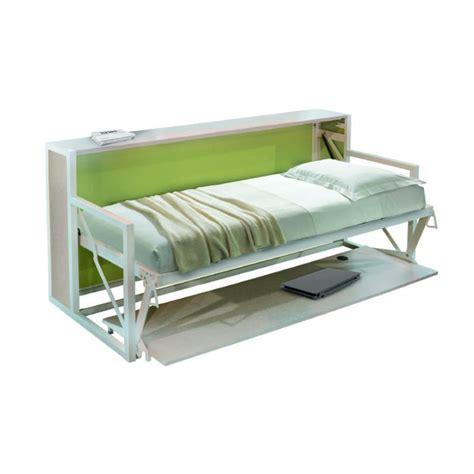 letti a con scrivania letto singolo a ribalta con scrivania
