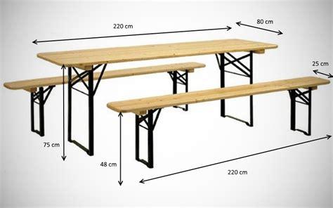 misure panchine tavoli e panche birreria per feste e sagre vendita