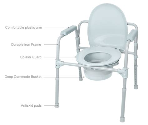 Commode Chair Canada by Commode Chair Aluminum Alloy Toilet Seat Chair With