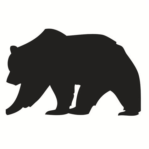 Sticker For Wall Decoration bear shape clipart best