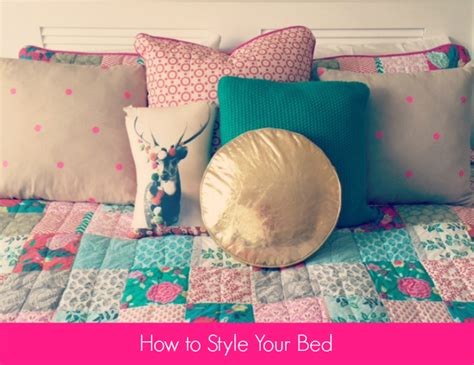 how to style a bed how to style your bed style shenanigans