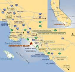 huntington california map