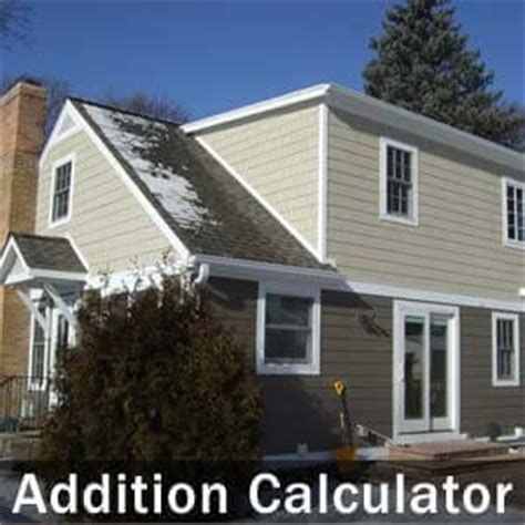 house building calculator home addition calculator estimate your cost to build a