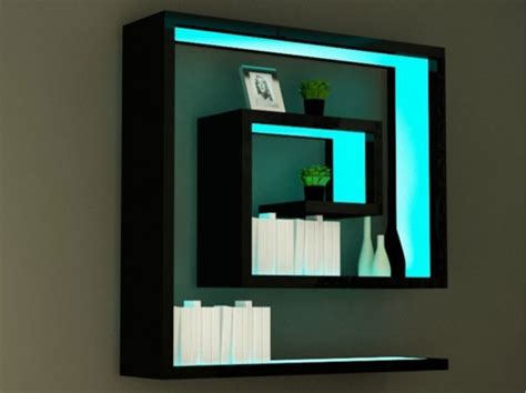 cool wall shelves furniture contemporary display and wall shelves