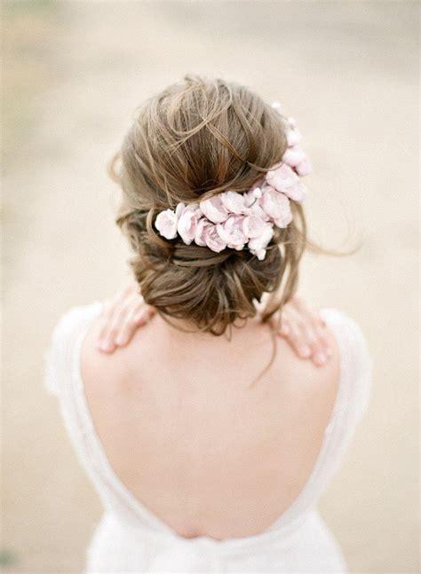 diy tiara di fiori makeup pink floral bridal headpiece silk flower wedding