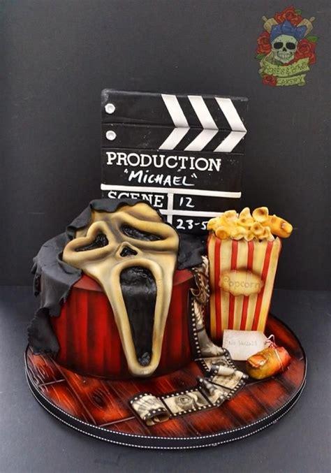 halloween scream themes best 25 horror cake ideas on pinterest halloween cakes