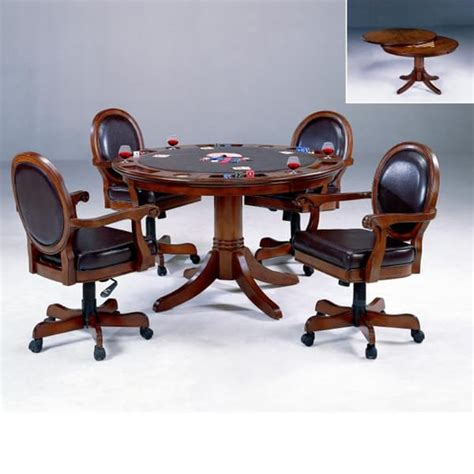game table sets with warrington game table set with chairs by hillsdale