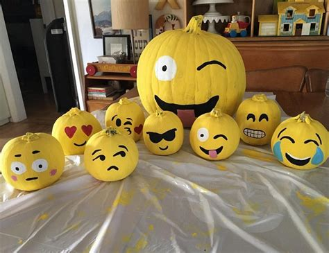 pumpkin ideas decorating clever no carve painted pumpkin ideas for crafty
