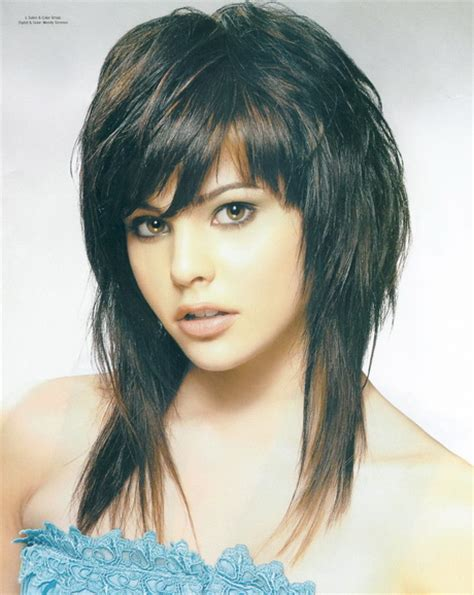 pictures of stylish medium long shag haircuts for women over 50 long shaggy layered haircut