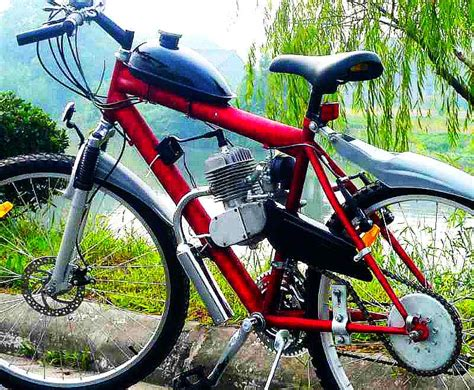 motorsforbikes a motor for your bicycle 100 150 mpg