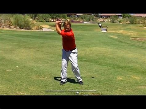 consistent golf swing drills hip turn drills for the downswing doovi