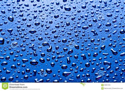 water blue color blue color water drops background stock photo image
