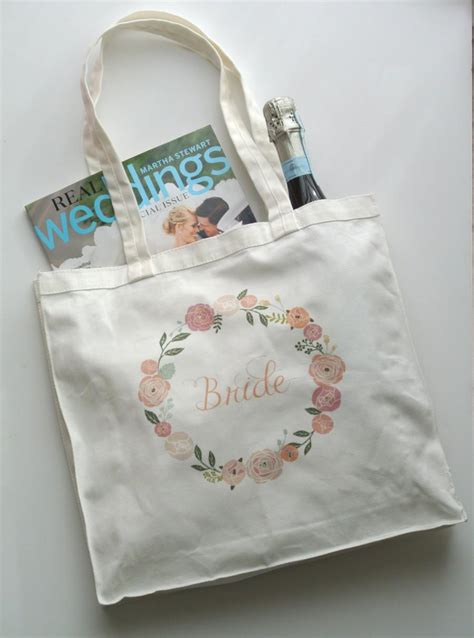 floral tote bag wedding gifts gift