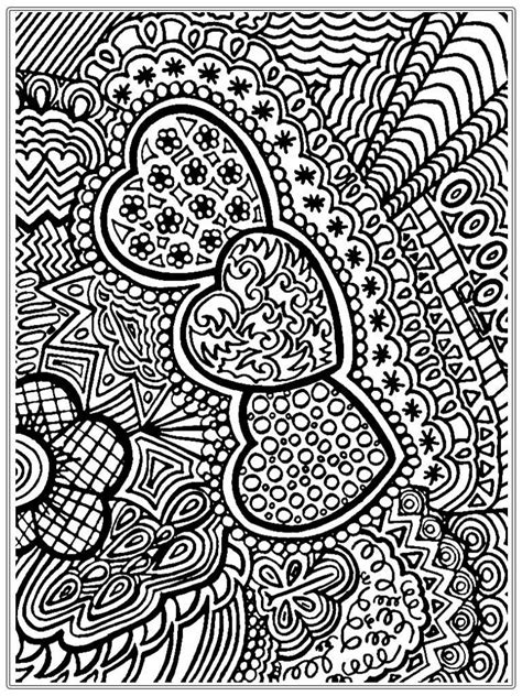 printable coloring pages for adults easy heart pictures to color for adult realistic coloring pages
