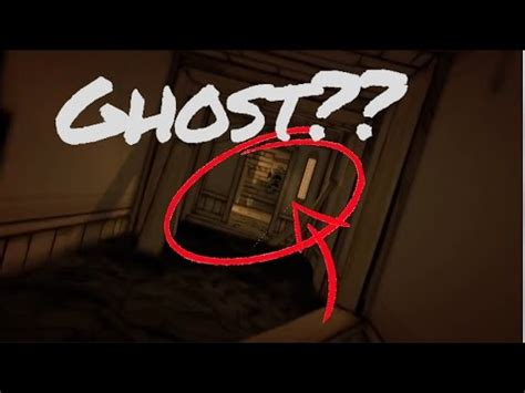 joey drew's ghost found in bendy and the ink machine