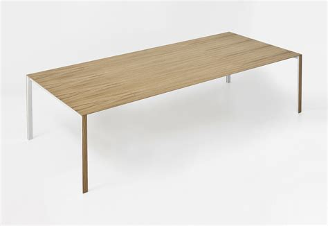 thin table thin k longo wood table dining tables from kristalia