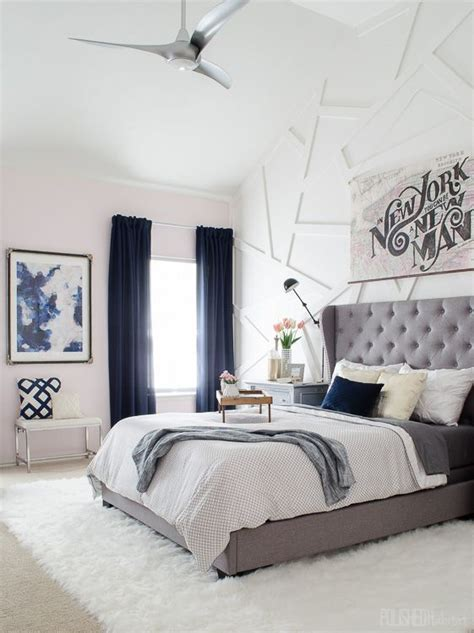 Grey Bedroom With Navy Accents 25 Best Ideas About Navy Curtains Bedroom On