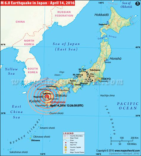 earthquake locations japan earthquakes map areas affected by earthquakes in japan