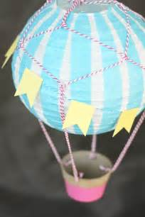 Oh The Places Youll Go Decorations How To Make A Air Balloon Vintage Style