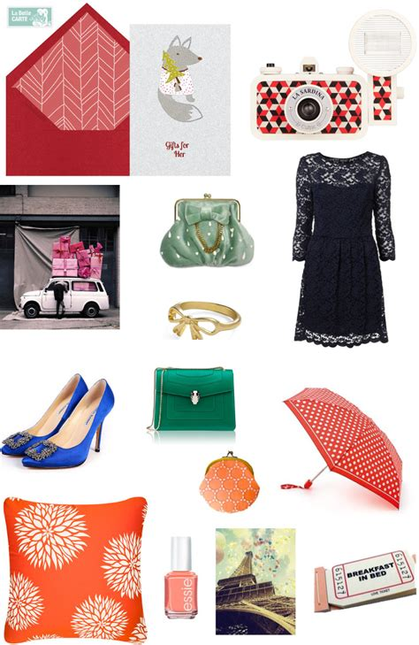 Gift Card Ideas For Her - christmas gifts la belle blog