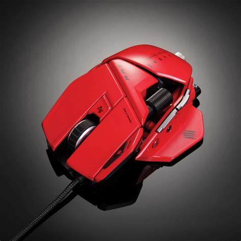 Madcatz R A T 7 Gaming Mouse Putih mad catz r a t 7 gaming mouse rojo