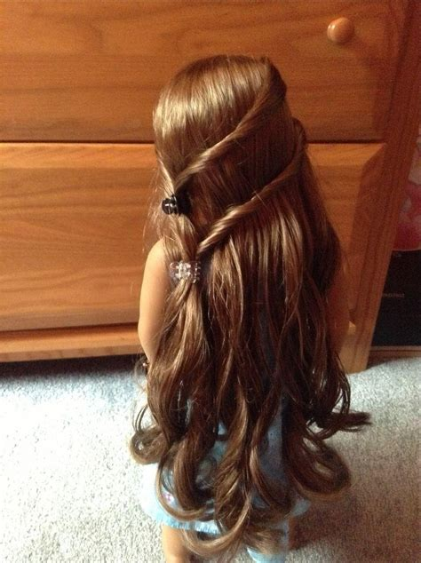 hairstyles for american girl dolls with long hair 15 best collection of cute hairstyles for american girl