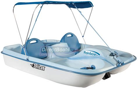 pedal boat brands pelican rainbow dlx pedal boat