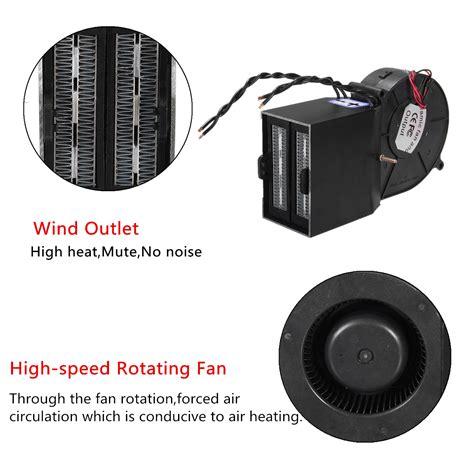 automotive heater defroster fan 12 ptc 300w 500w car portable adjustable heater