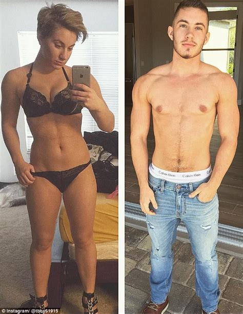 feminization male to female body transitions female hormones transgender man shares revealing before and after images